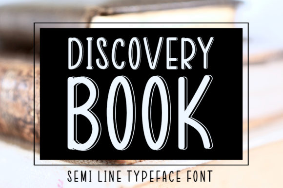 Print on Demand: Discovery Book Script & Handwritten Font By FL Space