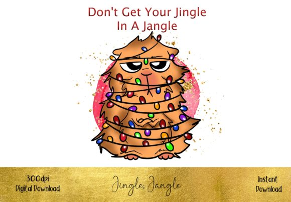 Don't Get Your Jingle in a Jangle Graphic Illustrations By STBB