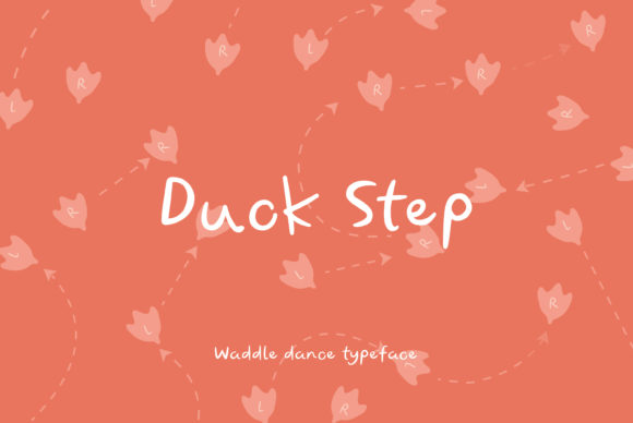 Print on Demand: Duck Step Script & Handwritten Font By Fontana Studio