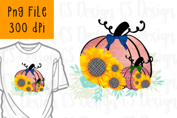 Print on Demand: Fall Y'all Autumn Pumpkin Sublimation Graphic Crafts By CSDesign