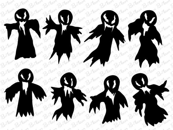 Halloween Ghost Graphic Illustrations By PurMoon