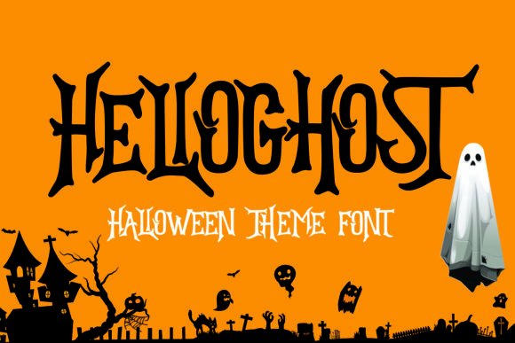 Hello Ghost Font