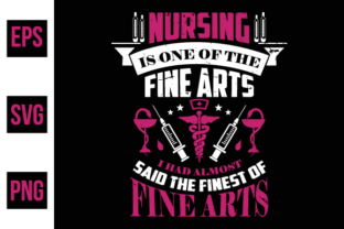 Print on Demand: Nurse Typographic Quotes Design Vector. Graphic Print Templates By ajgortee