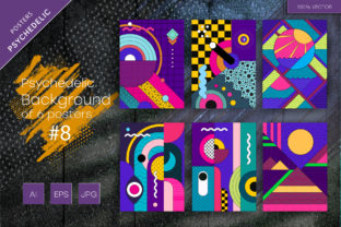 Psychedelic Background #8 Graphic Backgrounds By Keno Shop