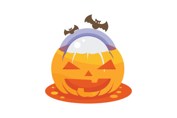 Print on Demand: Pumpkin Ball Illustration Graphic Illustrations By MAMD