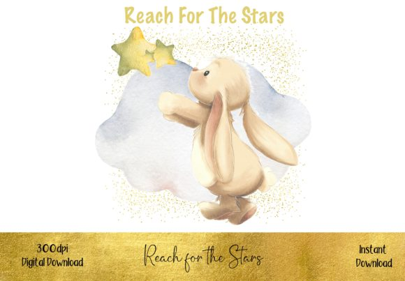 Reach for the Stars Graphic Illustrations By STBB