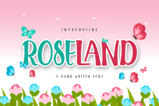 Print on Demand: Roseland Display Font By ToniStudio