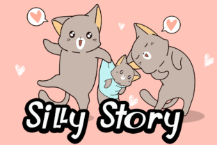 Print on Demand: Silly Story Display Font By Supersemar Letter