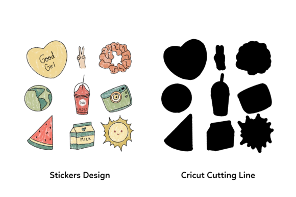 Tumblr Printable Stickers Aesthetic Graphic By Haifebruary Creative Fabrica
