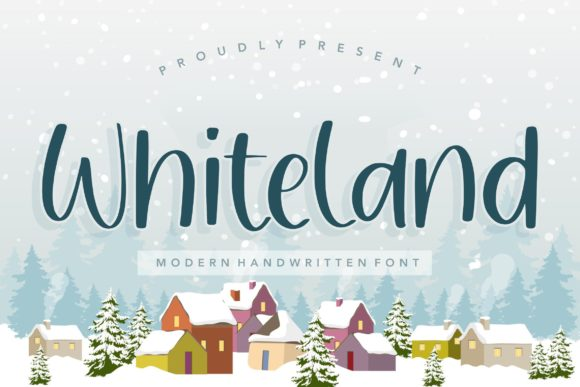 Print on Demand: Whiteland Script & Handwritten Font By Balpirick
