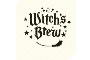 Print on Demand: Witch's Brew Halloween Quote Graphic Graphic Crafts By SVGPlaceDesign