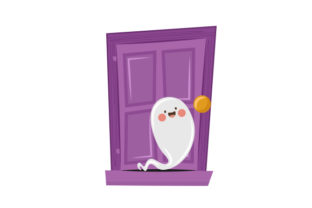 Ghost Halloween Craft Cut File By Creative Fabrica Crafts