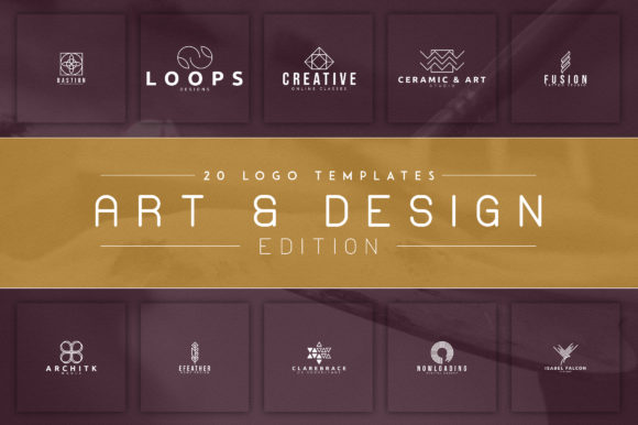 Print on Demand: 20 Logos (Art & Design Edition) Graphic Logos By vladfedotovv