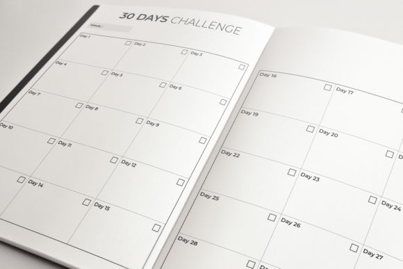 Print on Demand: 30 Days Challenge | KDP Template Graphic KDP Interiors By KDP Product