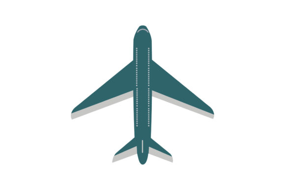 Airplane Icons Illustration Design Graphic Icons By 1riaspengantin
