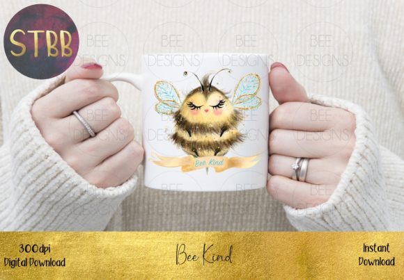 Bee Kind Graphic Item