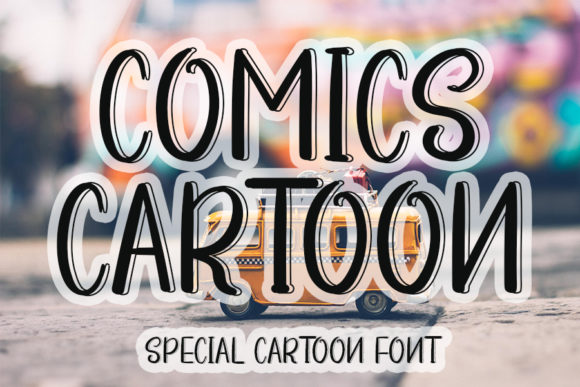 Print on Demand: Comics Cartoon Display Font By ONE DESIGN