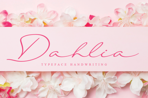 Print on Demand: Dahlia Script & Handwritten Font By LetterW26a