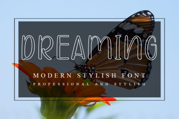 Print on Demand: Dreaming Script & Handwritten Font By ONE DESIGN