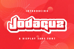 Print on Demand: Jodaguz Display Font By StringLabs