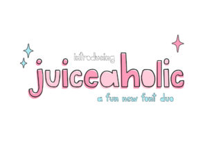 Print on Demand: Juiceaholic Display Font By Salt and Pepper Fonts