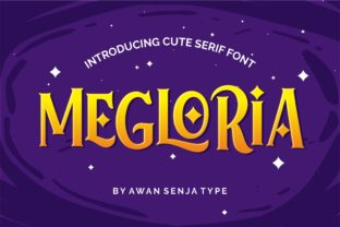 Print on Demand: Megloria Serif Font By awansenja.type