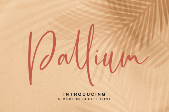 Print on Demand: Pallium Script & Handwritten Font By it_was_a_good_day