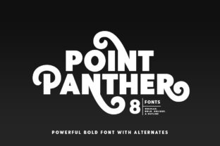 Print on Demand: Point Panther Sans Serif Font By saridezra