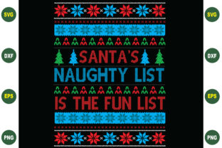 Print on Demand: Santa's Naughty List is the Fun List Graphic Crafts By BDB_Graphics