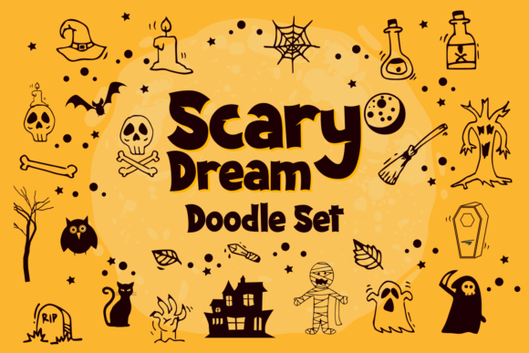 Scary Dream Font Item