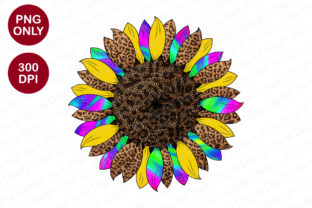 Print on Demand: Tie Dye Sunflower Sublimation Design Graphic Crafts By SineDigitalDesign