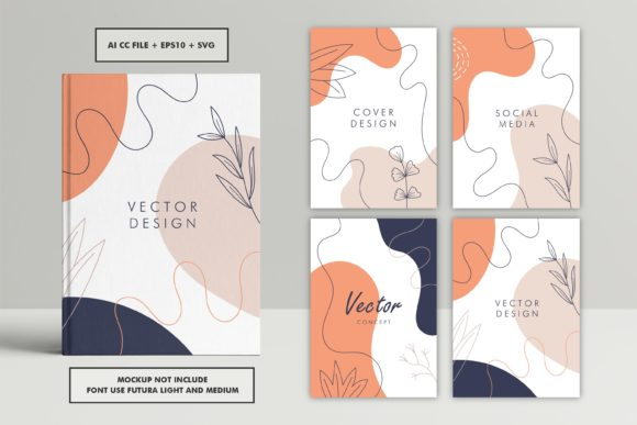 Abstract Trendy Universal Cover Template Graphic Graphic Templates By abworks