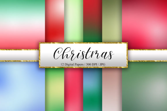 Christmas Background Digital Papers Graphic Backgrounds By PinkPearly