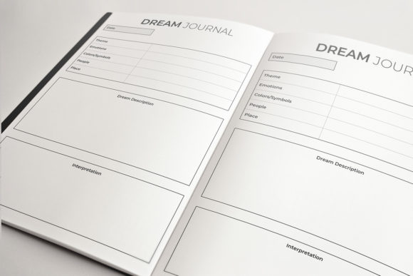 Dream Journal | KDP Template Graphic Download