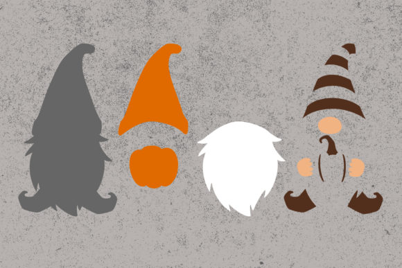 Fall Gnomes Clipart Graphic Item
