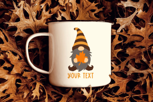 Fall Gnomes Clipart Graphic Preview