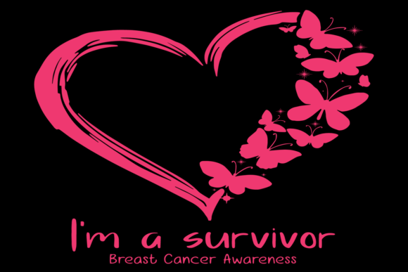 I'm a Survivor,breast Cancer, Breast Can Graphic Graphic Templates By zaneavi.moor1