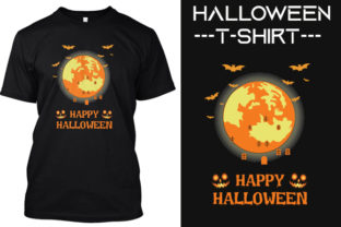 New Halloween T -shirt Designs Graphic Graphic Print Templates By ASADCC