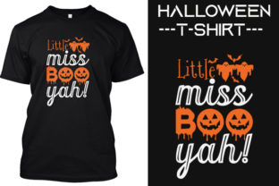 New Halloween T -shirt Designs Graphic Print Templates By ASADCC