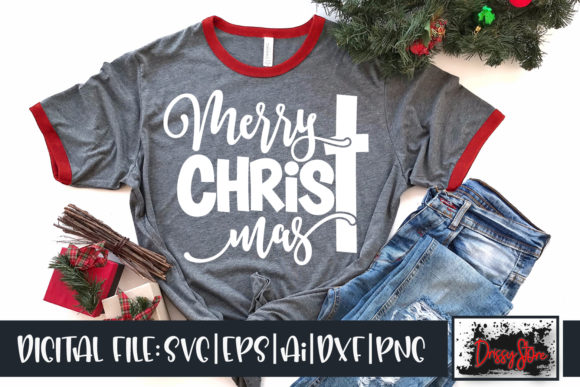 Merry Christmas Graphic Crafts By DrissyStore