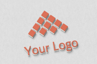 Photoshop Logo Mock-ups - 3D Style Graphic Product Mockups By Vladimir Carrer