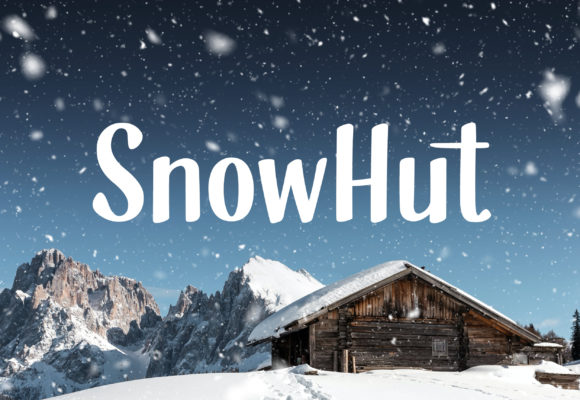 Print on Demand: Snowhut Display Font By Shaped Fonts