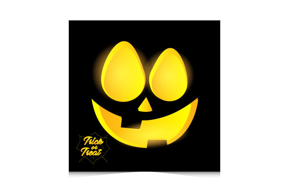 Trick or Treat Halloween Card Template Graphic Print Templates By Muhammad Rizky Klinsman