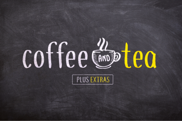 Print on Demand: Coffee and Tea Script & Handwritten Font By Shaped Fonts