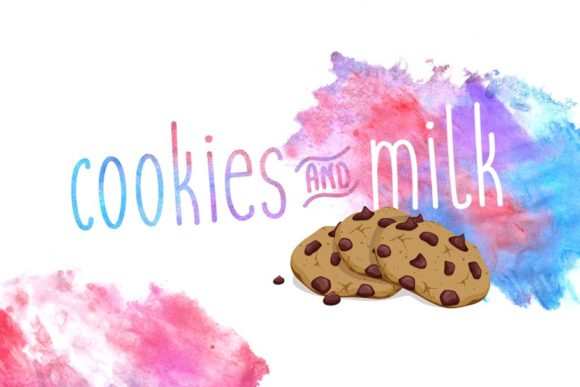 Print on Demand: Cookies and Milk Sans Serif Font By Shaped Fonts