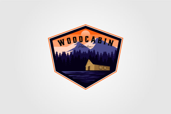 Vintage Cabin Adventure Logo Vector Graphic Logos By lawoel