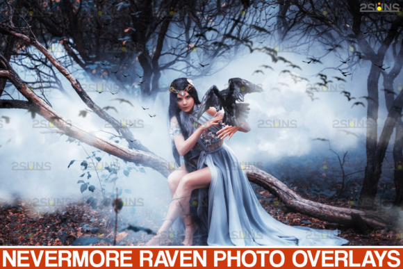 50 Halloween Overlay & Photoshop Overlay Graphic Actions & Presets By 2SUNS