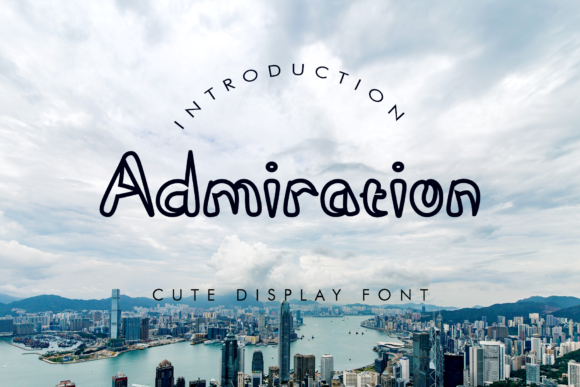 Print on Demand: Admiration Display Font By giatstudios