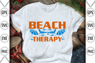 Print on Demand: Beach Therapy Graphic Crafts By store_svg