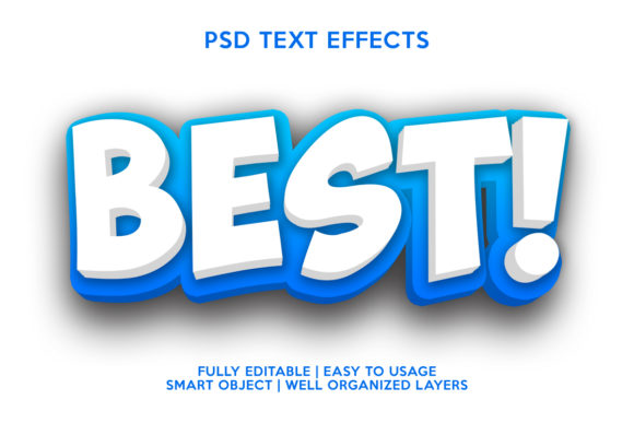 Best Text Effect Graphic
